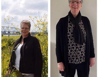 Cindy 2 jaar slank met EGA